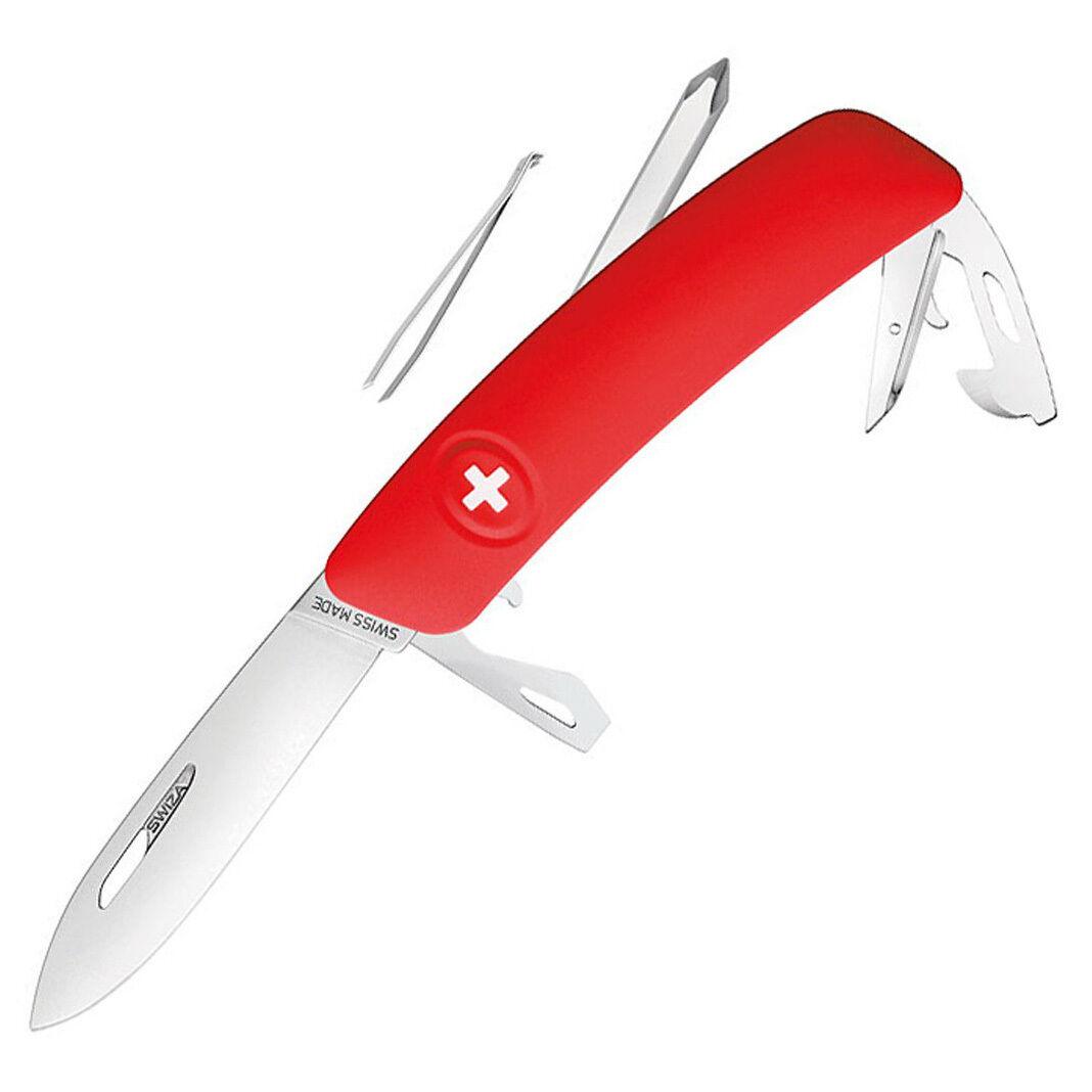 SWIZA Schweizer Messer Messer Messer D04 - Taschenmesser -  Klappmesser - Pinzette - 690401 f30b47