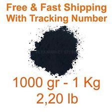 Iron Oxide Black Pigment Dye 1000gr 1kg 220 Lb Free Amp Fast Shipping Fe3o4 Dyes