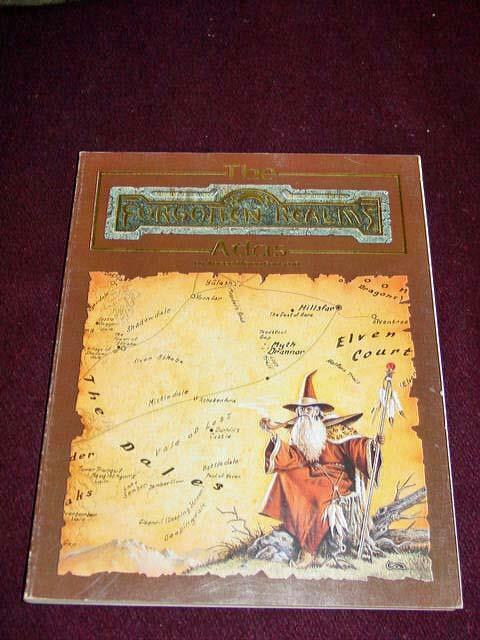 TSR  8442 - ad&d 1990-Les Royaumes oubliés-Atlas-Par Karen Wynn Fonstad
