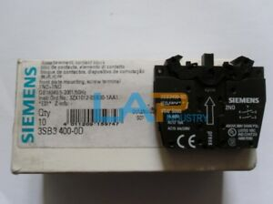 1PC-New-For-SIEMENS-Pushbutton-Switch-3SB3400-0D-ZY