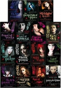 Rachel-Caine-The-Morganville-Vampires-15-Books-Collection-Set-Fall-Of-Night-New