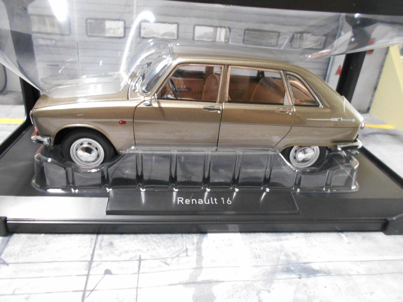 RENAULT 16 TL BERLINA 1968 GRIGIO grigio MET. 185133 NUOVO NEW NOREV 1 18