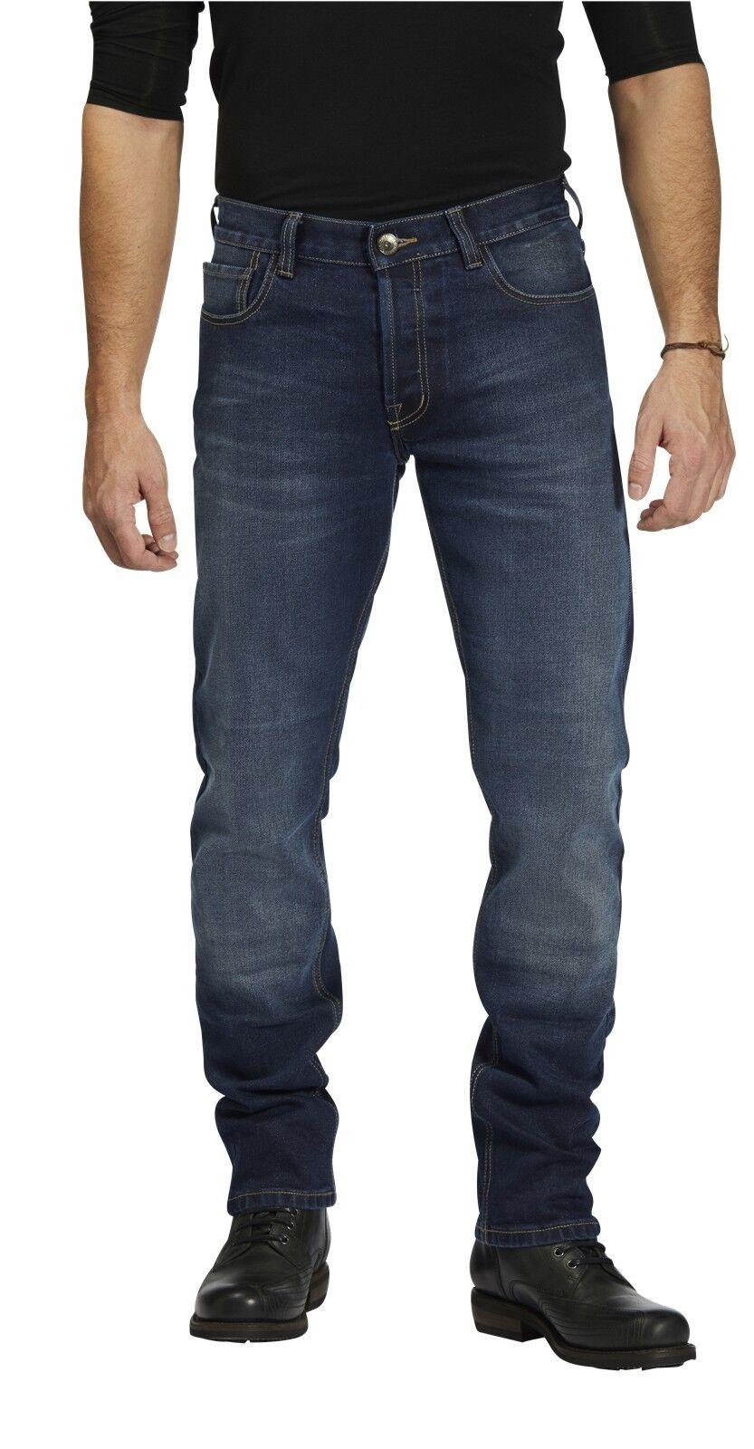 Rokker rokkertech slim lunghezza 34 34 34 Uomo Jeans Moto Pantaloni Moto alla moda f5e4f7