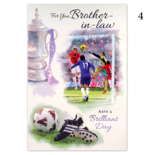 BROTHER-IN-LAW BIRTHDAY CARD ~ Brother in Law Greetings Card ~ Birthday Wishes