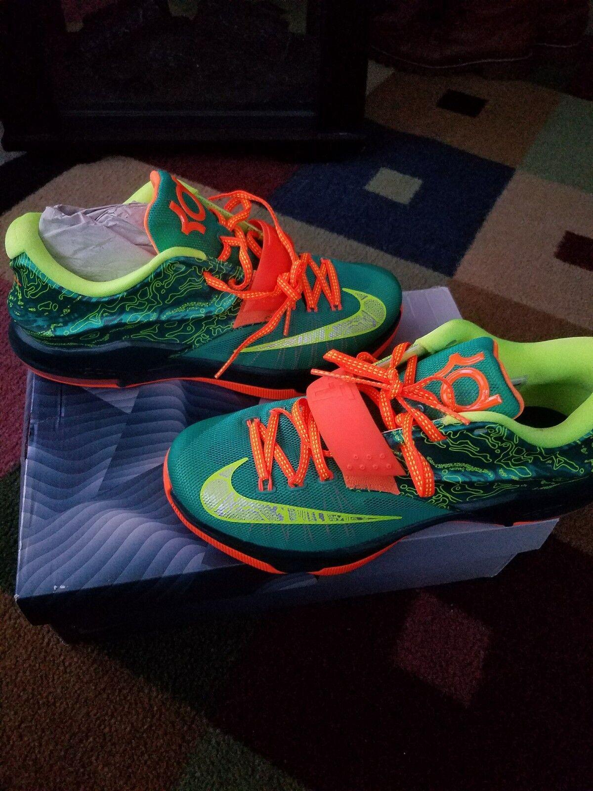 Nike KD Kevin Durant 7 Weatherman 653996 303 Size 10 NDS OG ALL Nice Sneaker