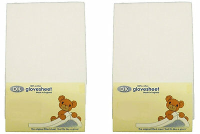 New in pack DK glovesheet white space saver cot mattress fitted sheet 100x52cm