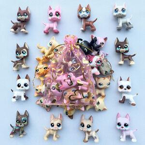5pcs Random Lps Great Danecat Littlest Pet Shop Toys Lot Surprise