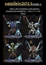 Diablo 3 RoS PS4/Xbox One - Hexendoktor All 5 Ancient Set's 100% Unmodded URALT