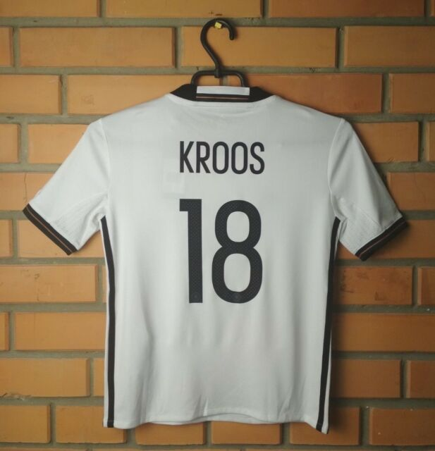 Germany Kroos Jersey 2016- 2017 Youth 9-10 y Shirt Adidas Football Soccer Trikot