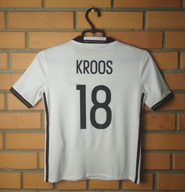Germany Kroos Jersey 2016- 2017 Youth 9-10 y Shirt Adidas Football Soccer Trikot