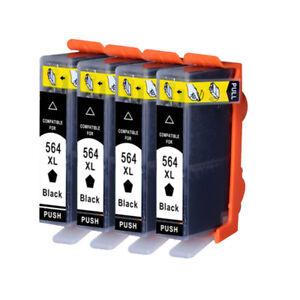 4PK-New-564XL-Ink-Cartridge-for-Photosmart-6510-6520-7510-7520-5520-5510
