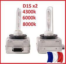 LOT de 2  LAMPE FEUX BULBS AMPOULES XENON D1S 4300K  6000k 8000k UNIVERSELLES