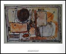 Jacques Doucet Komposition Poster Kunstdruck mit Alu Rahmen in schwarz 56x71cm