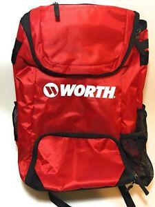 New-Red-Worth-Softball-2-Bat-Backpack