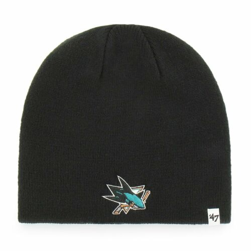 WINTER San Jose Sharks schwarz 47 Brand Knit Beanie