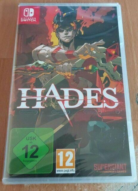 Hades (Nintendo Switch, 2021) Neu üngeöffnet