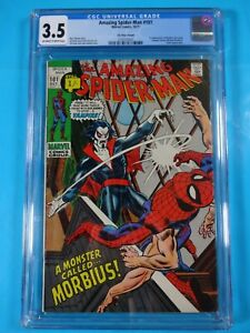 CGC-Comic-graded-3-5-amazing-spiderman-1st-morbius-app-101-Key-issue