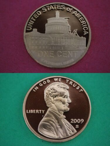 2009-S Proof Lincoln Presidency Cent Penny Deep Cameo Combined Shipping