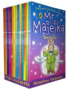 Mr-Majeika-Collection-School-trip-14-Books-Set-by-Humphrey-Carpenter-Pack-NEW