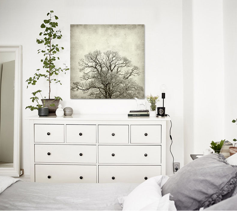 3D Branches 53 Wall Stickers Vinyl Murals Wall Print Decal AJSTORE UK Lemon