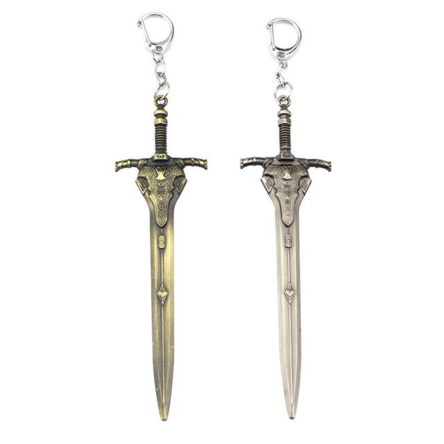 Dark Souls 3 Keychain Greatsword of Artorias Key Ring Holder Fashion Sword Model