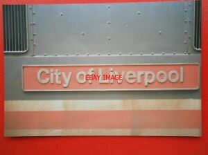 PHOTO  CLASS 87 ELECTRIC NAMEPLATE  87 008 CITY OF LIVERPOOL - Tadley, United Kingdom - PHOTO  CLASS 87 ELECTRIC NAMEPLATE  87 008 CITY OF LIVERPOOL - Tadley, United Kingdom