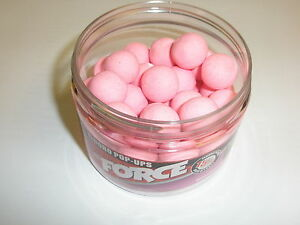 Rod-Hutchinson-The-Force-Flouro-Pink-Pop-Ups-15mm-Fishing-tackle