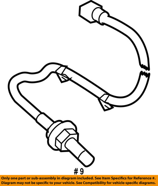 Subaru Heated Oxygen Sensor