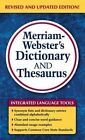 Merriam-Webster's Dictionary and Thesaurus by Merriam-Webster Inc. (Paperback, 2014)