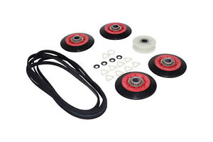 Fits-Whirlpool-Dryer-Repair-Kit-w-rollers-pulley-4392067-661570-PS373088