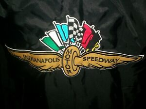 NEW-w-Tags-INDIANAPOLIS-MOTOR-SPEEDWAY-INDY-pullover-V-neck-lined-jacket-Small