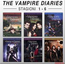 The Vampire Diaries - Stagioni da 1 a 6 - Cofanetti Singoli Italiani (30 DVD)