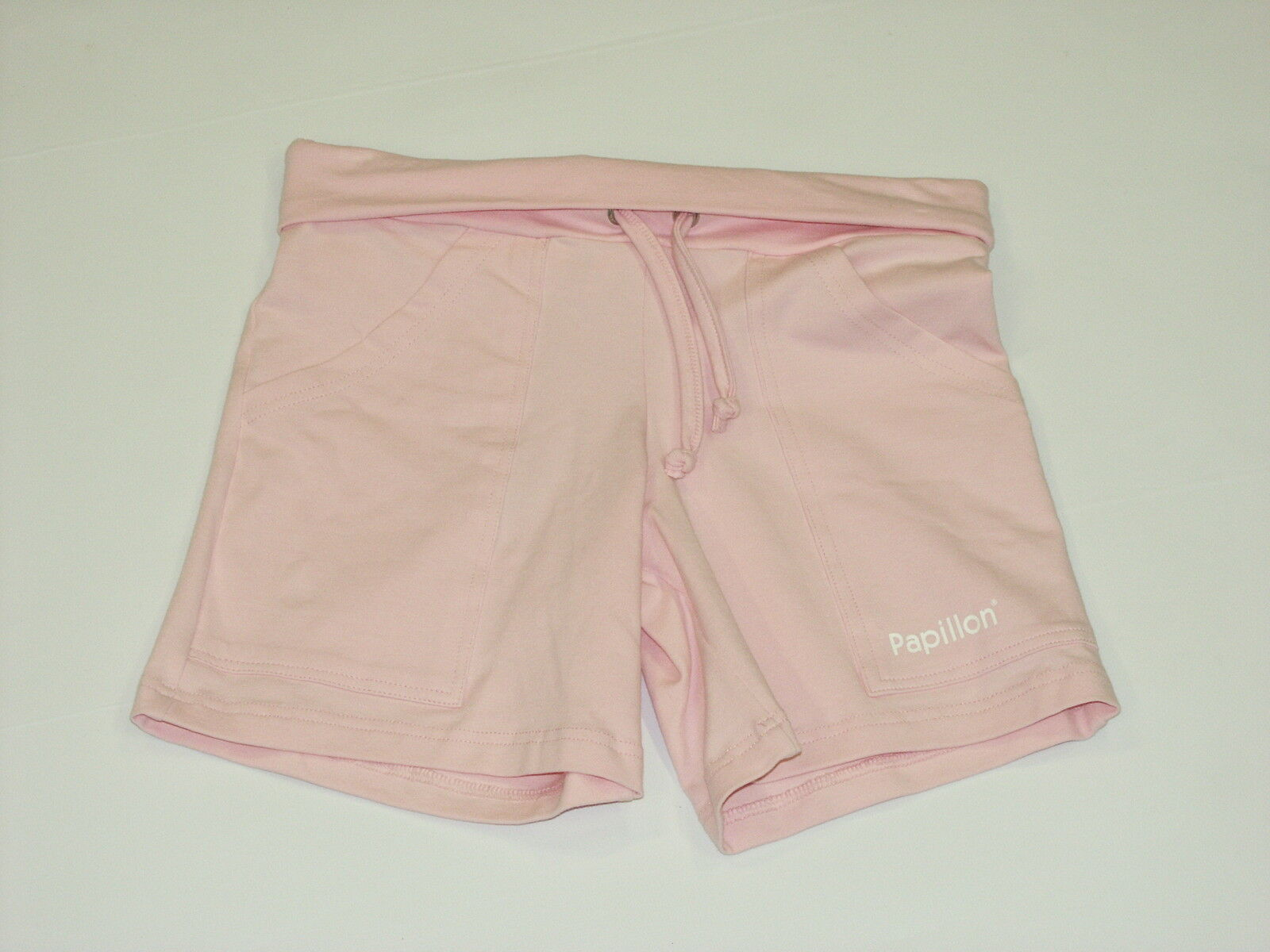 Brand New Papillon Pink Tie Dance Shorts Rollover Top Age 14