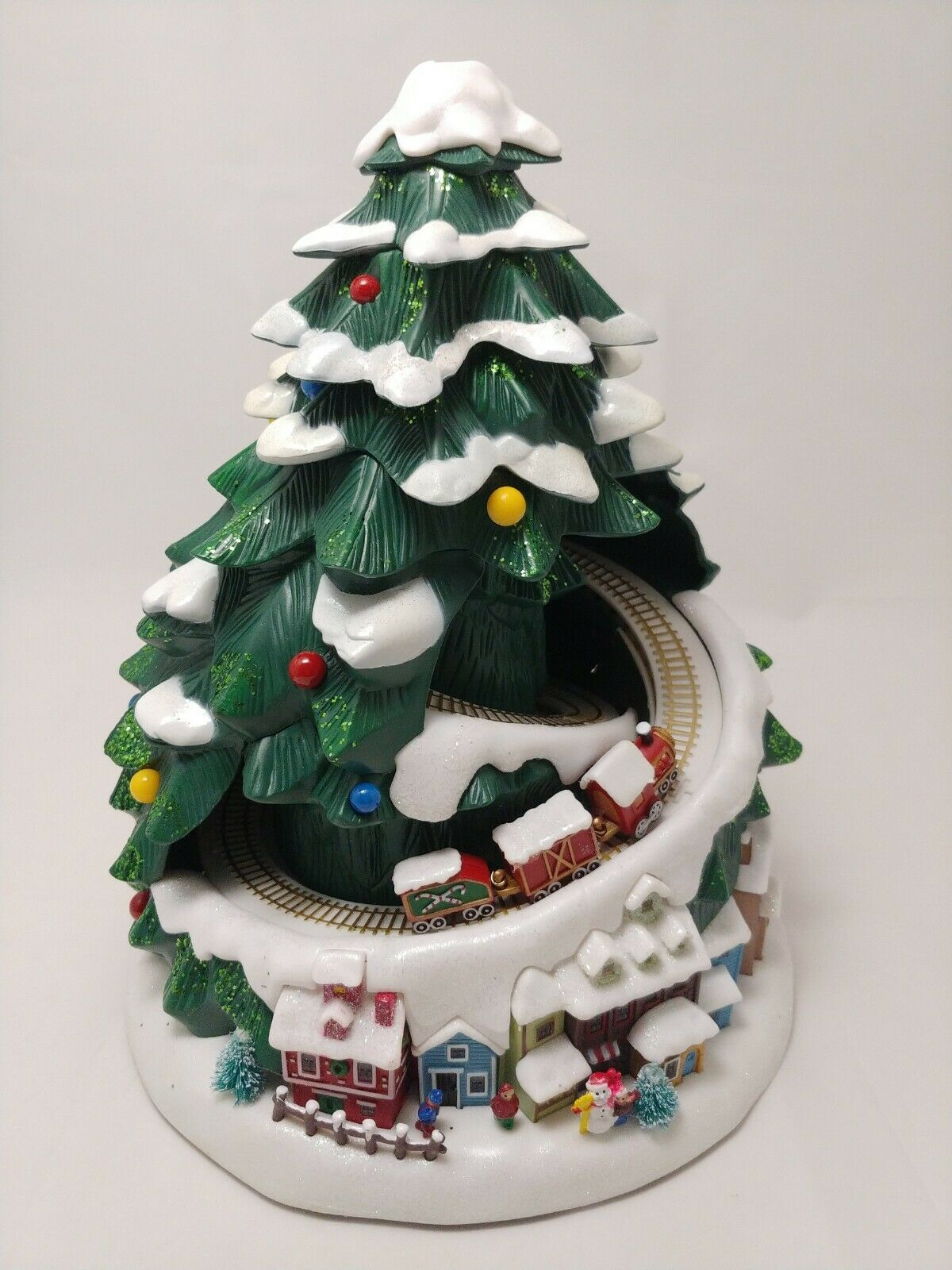 Avon 2007 Lighted Musical Holiday Christmas Tree With Train 8 Songs For Sale Online Ebay