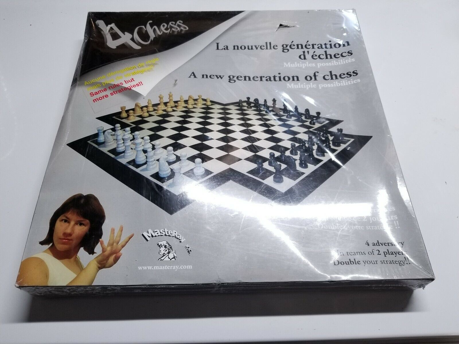 Masteray 4 Person Chess Game 4 Chess Sealed See Description For Sale Online