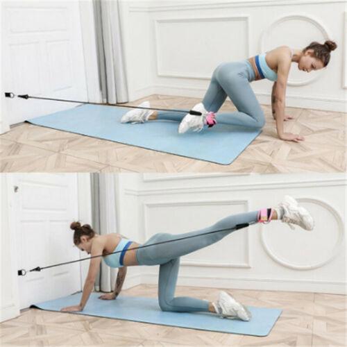 Tubo de banda resistência Malhação exercício elástico Equipamentos De Ginástica Yoga Loop Q