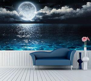 3d wasser mond 889 fototapeten wandbild fototapete bild tapete familie kinder de ebay. Black Bedroom Furniture Sets. Home Design Ideas