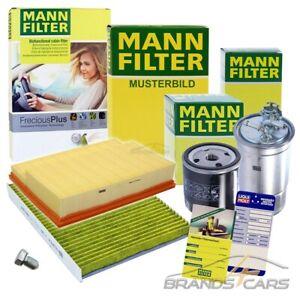 MANN-FILTER INSPEKTIONSPAKET FILTERSATZ B FÜR AUDI A3 8L 1.6 1.8+T S3 96-03