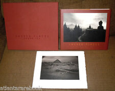 SIGNED KENRO IZU SACRED PLACES 1st/1st DELUXE LTD ED of JUST 100 W/SIGNED PRINT