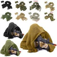 Sniper Face Veil Scrim Net Scarf Hunt Military Concealment Tactical Camouflage