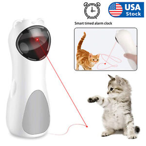 Automatic Cat LED Laser Toys Interactive Smart Teasing Kitten Funny Handheld Toy