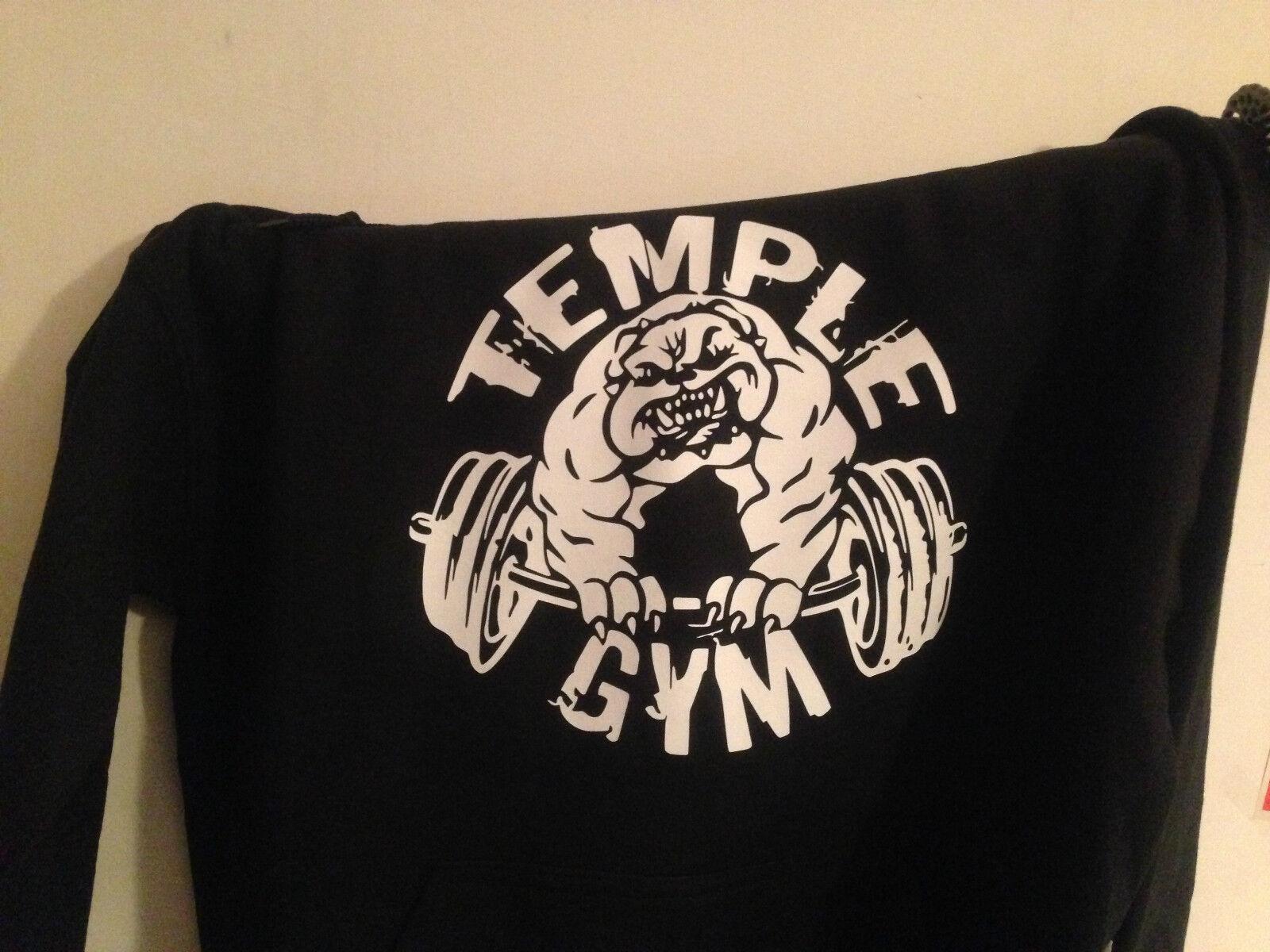 Felpa Bodybuilding Fitness Palestra  Temple Gym     | Praktisch Und Wirtschaftlich  | Qualität und Quantität garantiert  6a3f64