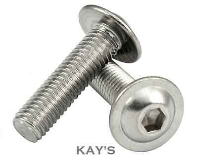 Flanged Hexagon Head Bolts Flange Hex Screws M5 M10 A2 Stainless Steel M8 M6 M8 x 50mm 4 Pack 8mm