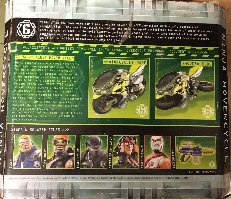 NEW GI Joe Sigma 6 Ninja Hovercycle - Motorcycle Motorcycle Motorcycle   Hovercraft (2005) 0866c5