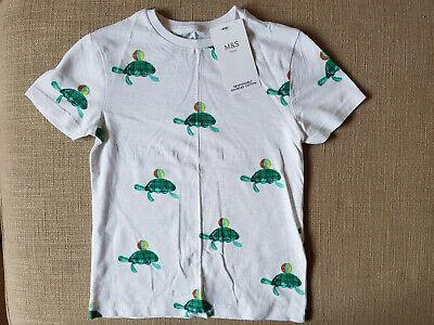 *** Ragazzi Marks And Spencer T-shirt *** 5 - 6 Anni ***-mostra Il Titolo Originale