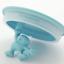thumbnail 3 - A di Alessi Gianni Glass Jar, Blue Lid, 140 cl, AMDR06 AZ