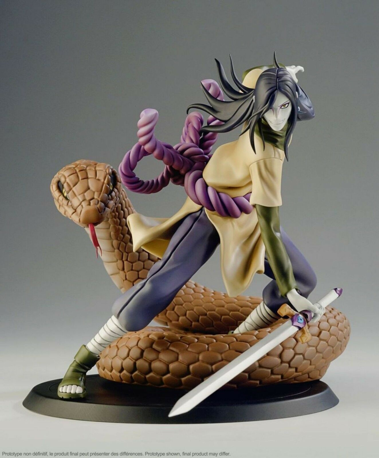 NARUTO SHIPPUDEN Orochimaru X-tra 1/10 Pvc Figure Action Figure Figure Figure Tsume Statue fb2bc6