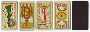 Magnetic-034-Tarot-of-Marseille-034-Aces-for-Meditation-Contemplation-All-Four-Suits