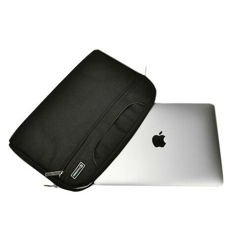 "Laptops Black Nylon Lycra Fabric Sleeve Bag for All 12/"" Macbook Retina A1534"