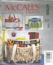McCALL CUCITO MODELLO MAGLIA DI PROGETTO cucito BORSE BORSA M7265
